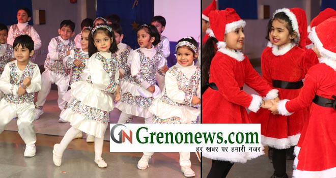 christmas celebration at greater valley school geater noida