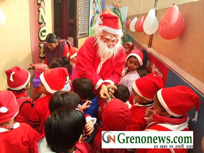 christmas celebration at littleangels school noida