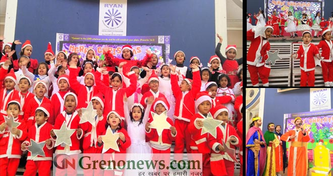 christmas celebration at ryan international school