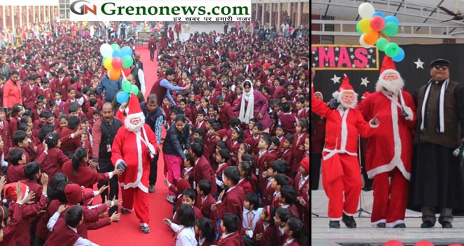 christmas celebration atst joseph's school greater noida