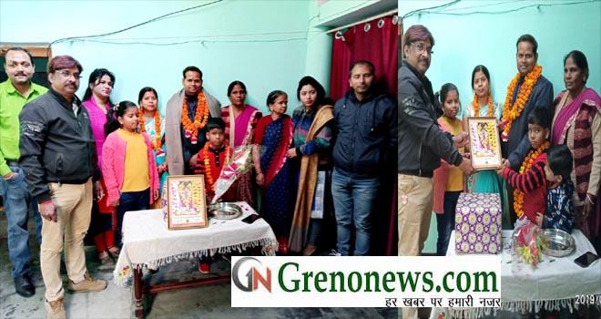 JOURNALIST ANIL SRIVASTAVA FECILITATED IN LAKHIMPUR KHERI - GRENONEWS