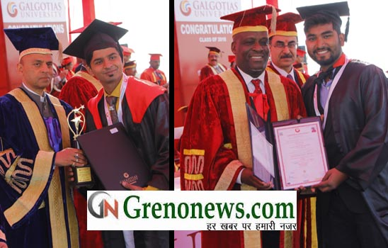 CONVOCATION AT GALGOTIA UNIVERSITY GREATER NOIDA