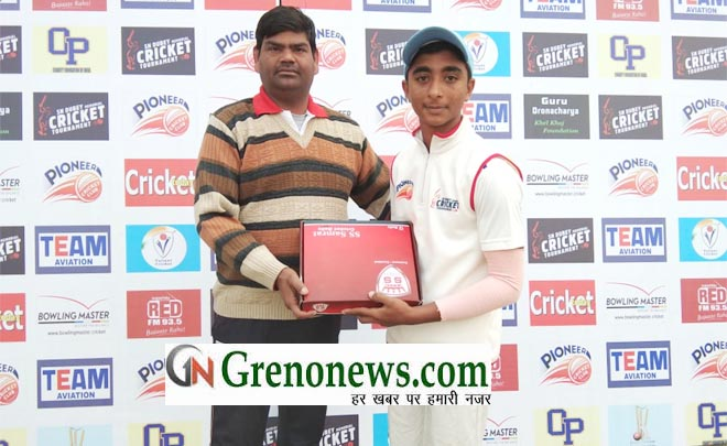 SN DUBEY MEMORIAL CRICKET TOURNAMENT WONDERS AND SONET REACHED TO SEMI FINAL- GRENONEWS