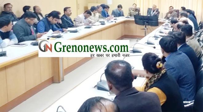 DM B.N. SINGH HOLDS MEETING FOR PREPARATION OF LOK SABHA ELECTION 2019 - GRENONEWS