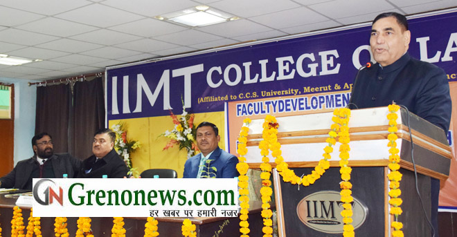 FACULTY DEVELOPMENT PROGRAMME IN IIMT COLLEGE
