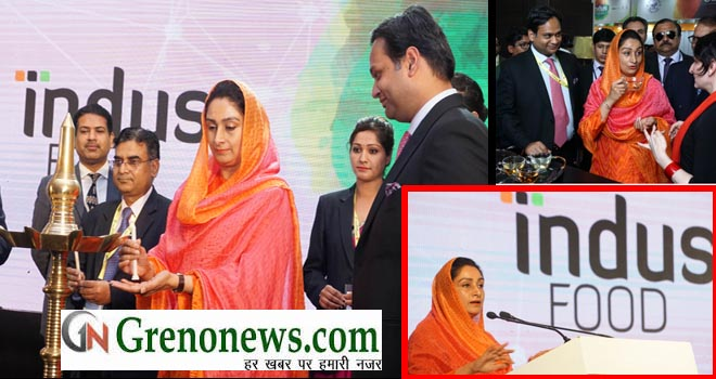 Indus Food-II INAUGURATED IN INDIA EXPO MART AT GREATER NOIDA - GRENONEWS