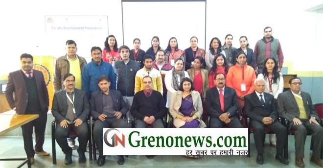 FACULTY DEVELOPMENT PROGRAM AT ITS ENGINEERING COLLEGE GREATER NOIDA - GRENONEWS
