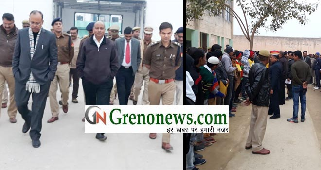 DISTRICT JUDGE AND DM INSPECTED DISTRICT JAIL LUKSAR AT GREATER NOIDA- GRENONEWS