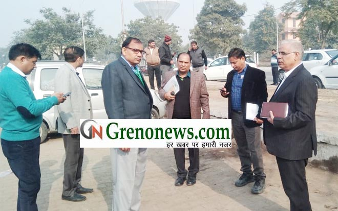 RWA BETA 1 PROTEST MOVEMENT OF GREATER NOIDA AUTHORITY OFFICERS IN BETA 1 SECTOR- GRENONEWS
