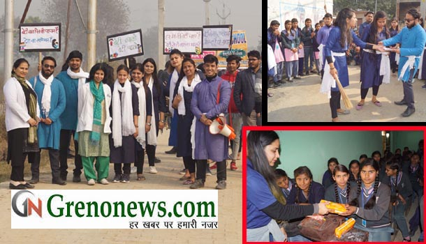 NATIONAL GIRL CHILD DAY CELEBRATED AT SHARDA UNIVERSITY - GRENONEWS