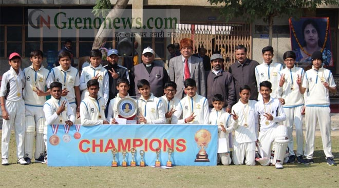 ST . JOSEPH SCHOOL WON SUVINA MEMORIAL CRICKET TOURNAMENT- GRENONEWS