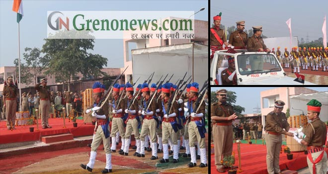 CONVOCATION PARADE OF UTTAR PRADESH POLICE IN GREATER NOIDA - GRENONEWS
