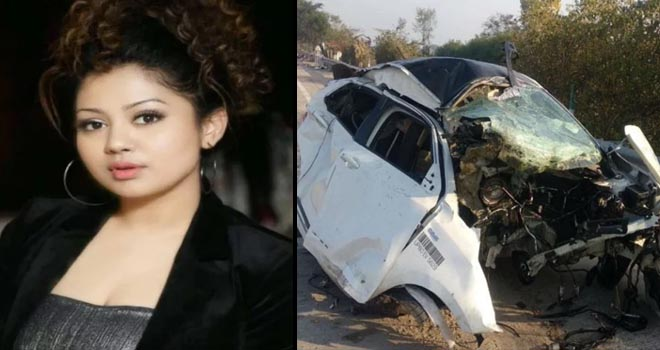 FAMOUS FEMALE SINGER SHIVANI BHATIA DIED IN ROAD ACCIDENT AT YAMUNA EXPRESSWAY- GRENONEWS