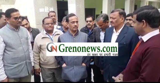 DEPUTY CM SURPRISE VISIT INSPECTION IN BOARD EXAM - GRENONEWS