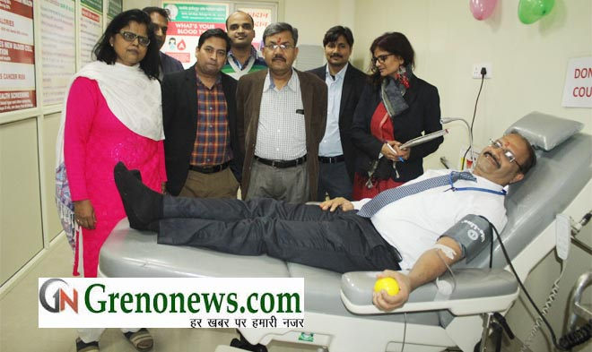 BLOOD BANK STARTED IN GREATER NOIDA INSTITUTE OF MEDICAL SCIENCE - GRENONEWS