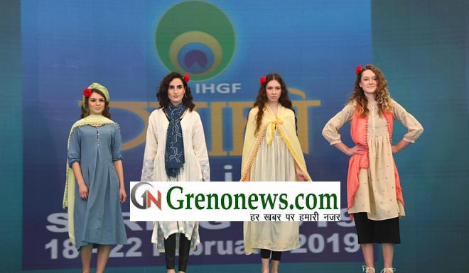 FASHION SHOW ON DAY TWO ATTRACTED MANY BUYERS IHGF-DELHI FAIR SPRING 2019: FASHION SHOW ON DAY TWO ATTRACTED MANY BUYERS- GRENONEWS