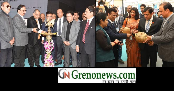SOMBRE OPENING OF IHGF-DELHI FAIR SPRING 2019 AT INDIA EXPO CENTRE & MART, GREATER NOIDA - GRENONEWS