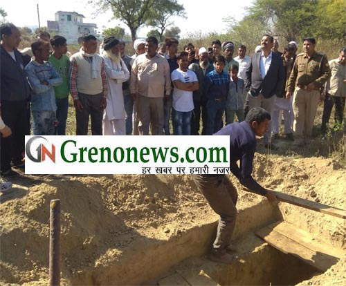 The body of the student was removed after 54 days by digging a grave- GRENONEWS