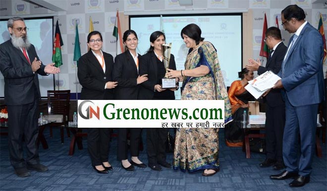 Five sitting Judges from SAARC Countries Judge the Fourth Prof. N R.Madhava Menon SAARC Law Mooting Competition- GRENONEWS