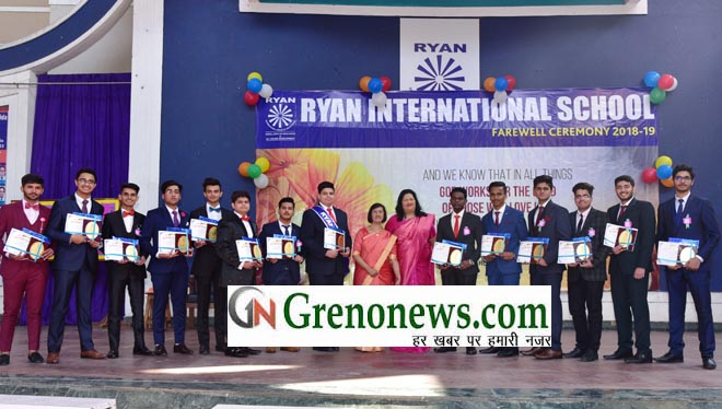 FARE YOU WELL' SAYS RYAN GREATER NOIDA