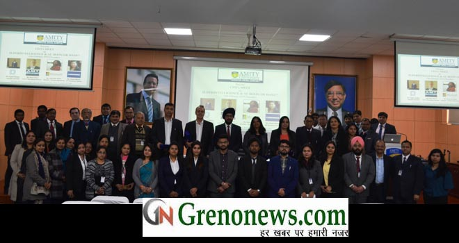 CEO MEET HELD IN AMITY UNIVERSITY GREATER NOIDA- GRENONEWS