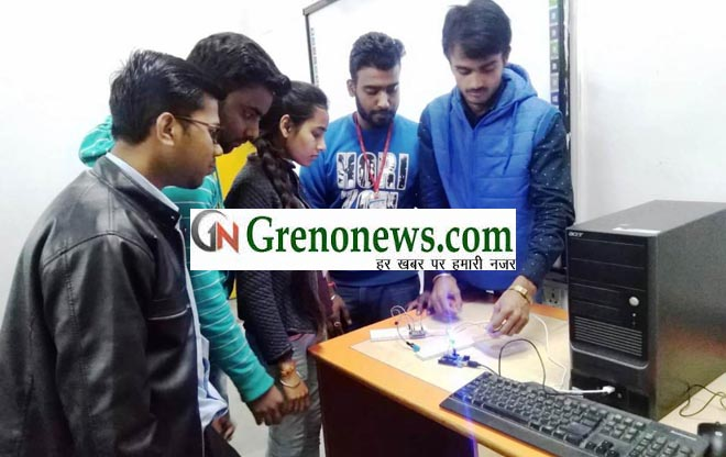 WORKSHOP ON IOT AND CENSOR AT IIMT COLLEGE GREATER NOIDA- GRENONEWS