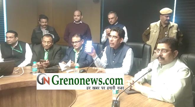 GREATER NOIDA AUTHORITY LAUNCHED HELP LINE NUMBER, MOBILE APP AND WHATSAPP NUMBER FOR ALLOTTEE AND GREATER NOIDA CITIZENS - GRENONEWS