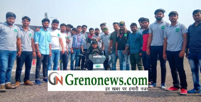 Eco kart competition, Gautam Budha University