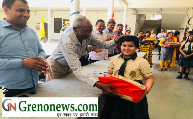 Meritorious students fecilitated in sdrv convent school - Grenonews