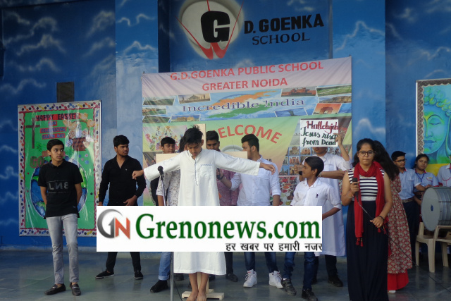 Good Friday in G.D. Goenka Public School