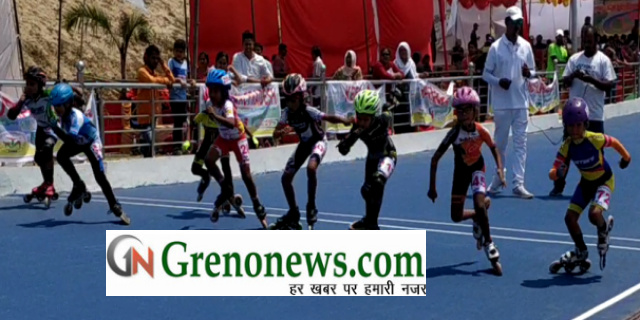 All india roller skating championship 2019 in Greater Noida - Grenonews