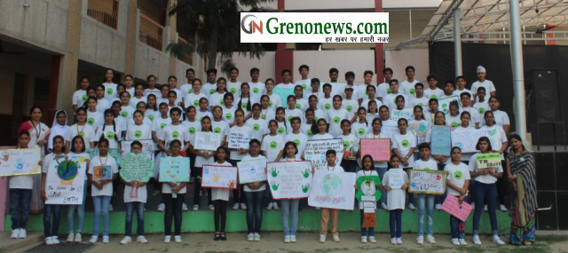 Earth day celebrated in st joseph school - Grenonews