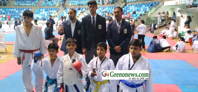 Samsara school childrens excellence performance in roller skating and karate