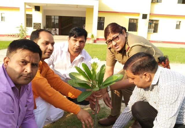 Earth day celebrated by mahila unnati sanstha plantation - Grenonews