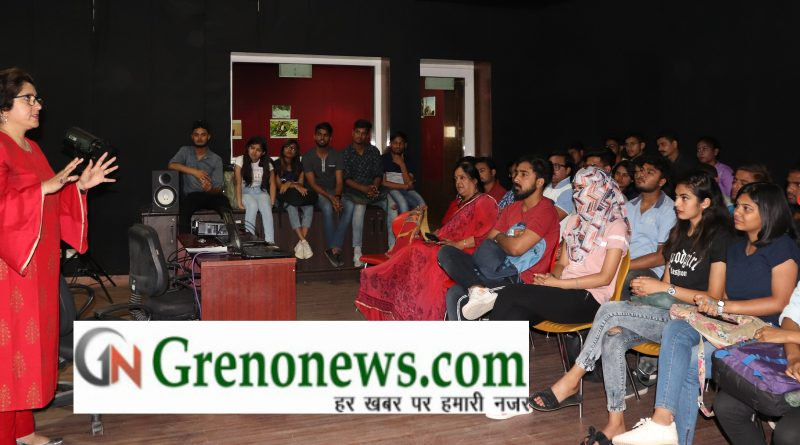 Seminar held in Galgotia University on exit poll - Grenonews