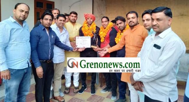 Body builder fecilitated by sukh veer pradhan shiksha samiti - Grenonews