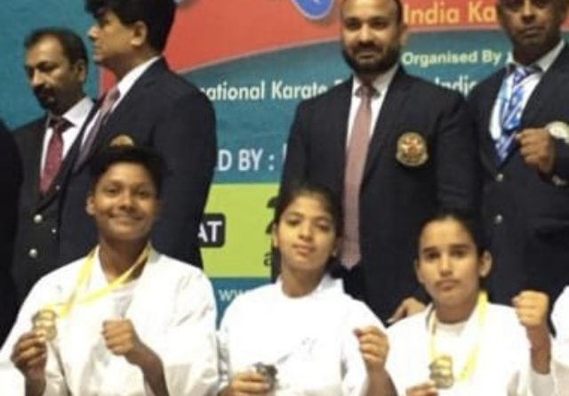 OXFORD GREEN PUBLIC SCHOOL GREATER NOIDA PLAYERS WON GOLD AND SILVER MEDAL IN KARATE - Grenonews