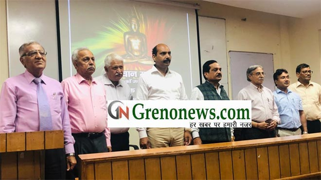 SHARDA UNIVERSITY CELEBRATED MAHAVIR JAYANTI- GRENONEWS