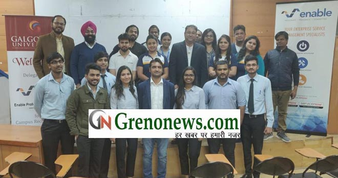GALGOTIA UNIVERSITY MAKE RECORD IN CAMPUS SELECTION- GRENONEWS