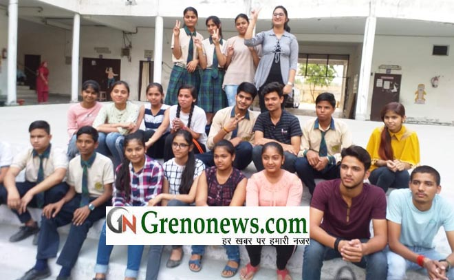 CBSE 10th RESULT PRIYANSHI AND ANANYA BECOME SDRV CONVENT SCHOOL TOPPER - GRENONEWS