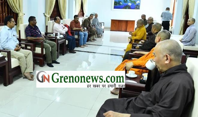 FACULTY MEMBERS OF BUDDHIST STUDIES GBU VISITED VIETNAM - GRENONEWS