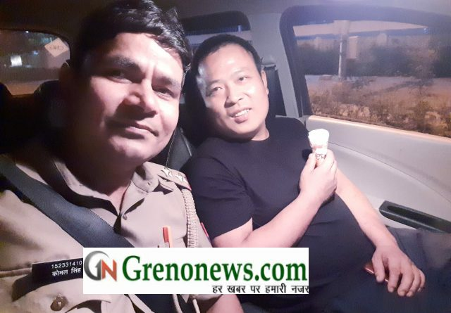 Police sub inspector of Noida Police helped chinese national -Grenonews
