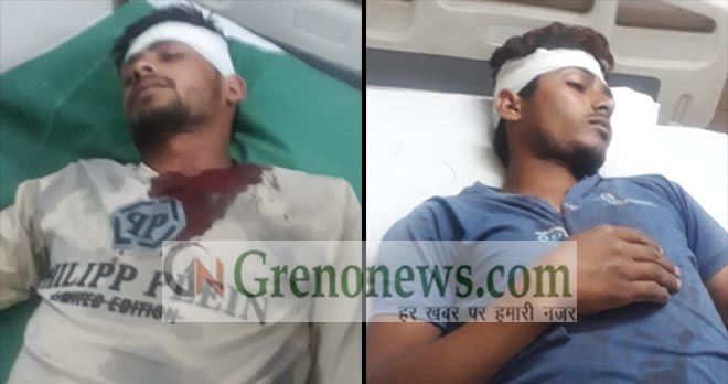 CLASH IN JARCHA GREATER NOIDA, FEW INJURED - GRENONEWS