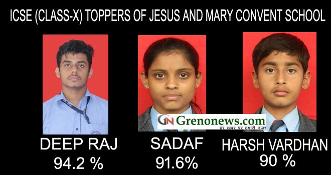 ICSE TOPPERS JESUS AND MARRY