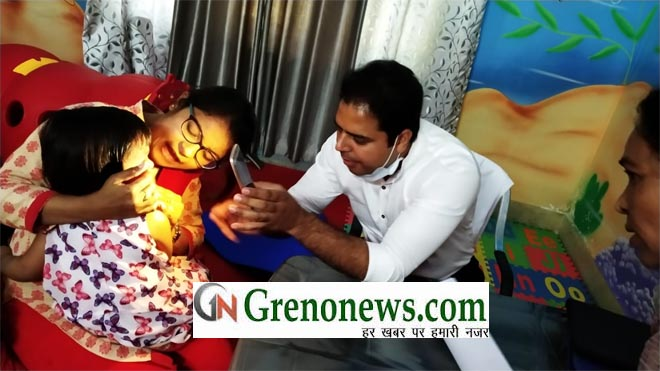 DENTAL CHECKUP CAMP IN JUNIOR DPS - GRENONEWS