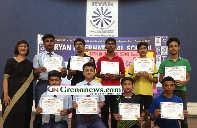 INTER RYAN SKATING CHAMPIONSHIP AT RYAN GREATER NOIDA- GRENONEWS
