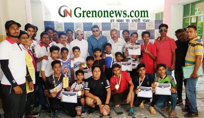 SKATERS OF GAUTAM BUDH NAGAR PERFORMED GOOD IN SPEED SKATING COMPETITION - GRENONEWS