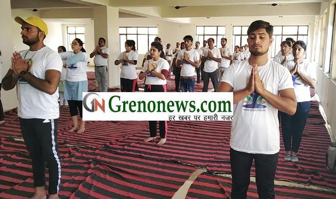 INTERNATIONAL DAY OF YOGA CELEBRATED IN ISHAN AYURVEDA COLLEGE- GRENONEWS