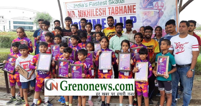 NIKHILESH TABHANE SKATING CAMP IN GREATER NOIDA