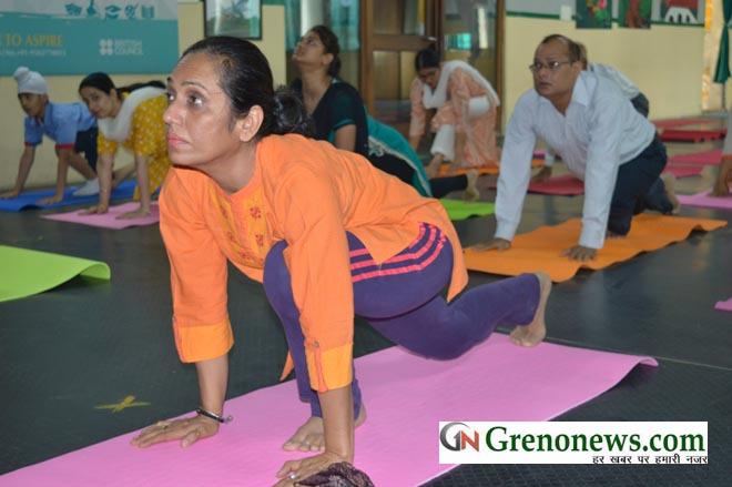 INTERNATIONAL YOGA DAY CELEBRATED IN SAMSARA SCHOOL